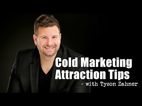 Cold Marketing Tips – How to Generate Leads Online Using an Attraction Marketing Formula