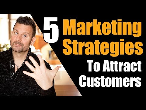 How to Attract Customers – 5 Marketing Strategies to Dominate Social media