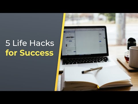 5 Life Hacks Every Successful Person Knows | Brian Tracy