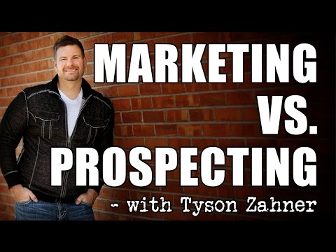 MLM leads: Attraction Marketing vs  Sales Prospecting for MLM lead generation