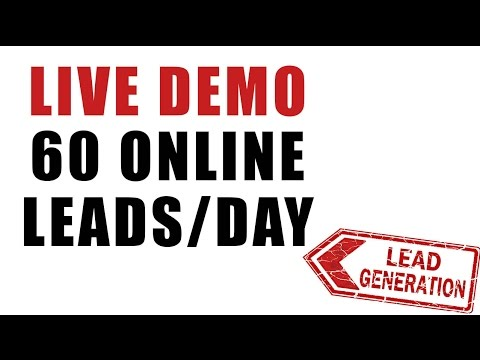 How to Get Leads Online – Watch LIVE Generate Leads Online Using Attraction Marketing