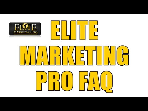 Elite Marketing Pro Attraction Marketing System FAQ – Questions About EMP